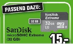 [Lokal bei Alphatecc] SanDisk Extreme 32GB microSDHC mircro SD 15€