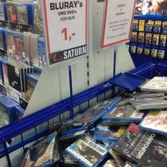 (Lokal?) Saturn Do Eving Blu-rays & DVDs 1 Euro