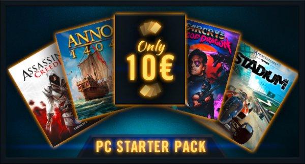 PC Starter Pack für 10€ @Uplay von Ubi