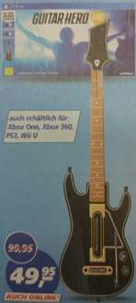 (real.de ab 07.03.) Guitar Hero Live für alle Plattformen für je 49,95€