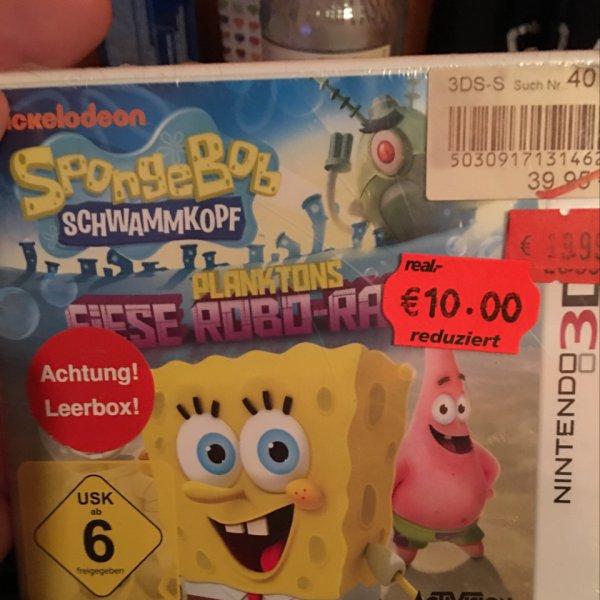 SpongeBob Schwammkopf - Planktons fiese Robobo- bei Real Henstedt Ulzburg