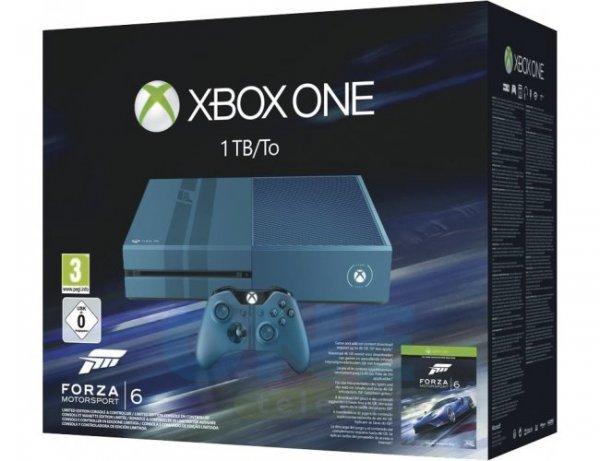Microsoft Xbox One 1TB (LE) blau + Forza Motorsport 6 USK 0