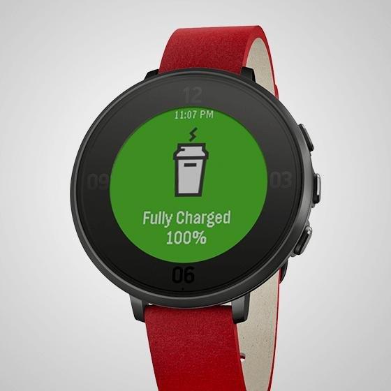 Sämtliche Pebble Uhren im Angebot: Time Steel 225€ - Time Round 206€