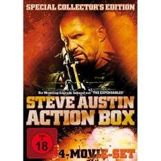 Steve Austin Action Box (4 DVDs) für 3,22€ bei Redcoon.de