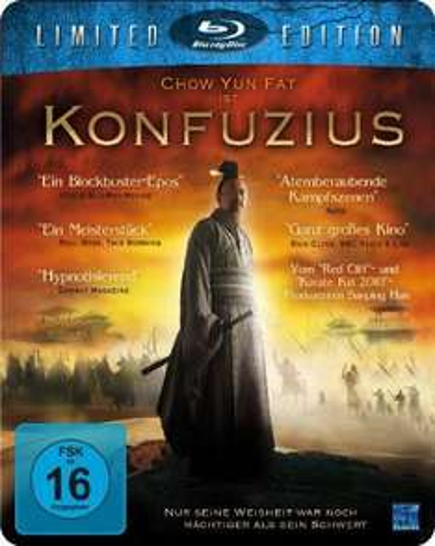 Konfuzius - Metalpak [Blu-ray] [Limited Edition] für 5€ bei Amazon (Prime)