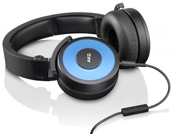 [Amazon.de] AKG Y 55 Leistungsfähiger DJ-Kopfhörer in blau statt 97€