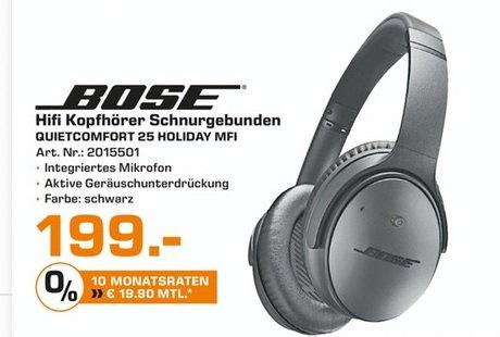 BOSE QuietComfort 25 für 199€ (PVG: ca. 230€)@Saturn Trier/Saarbrücken