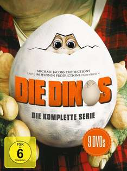 [Thalia] Die Dinos - Die komplette Serie (1430 Minuten auf 9 DVDs) für 23,79€ versandkostenfrei