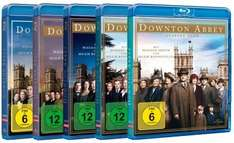 [Media-Dealer] Downton Abbey Staffel 1-5 (2476 Minuten auf 16 Blurays) für 76,99€