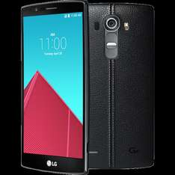 LG G4 LTE in Leder schwarz (5,5'' QHD IPS, Snapdragon 808 Hexacore, 3GB RAM, 32GB intern, 16MP + 8MP Kamera, 3000 mAh mit Quickcharge wechselbar, Android 6)