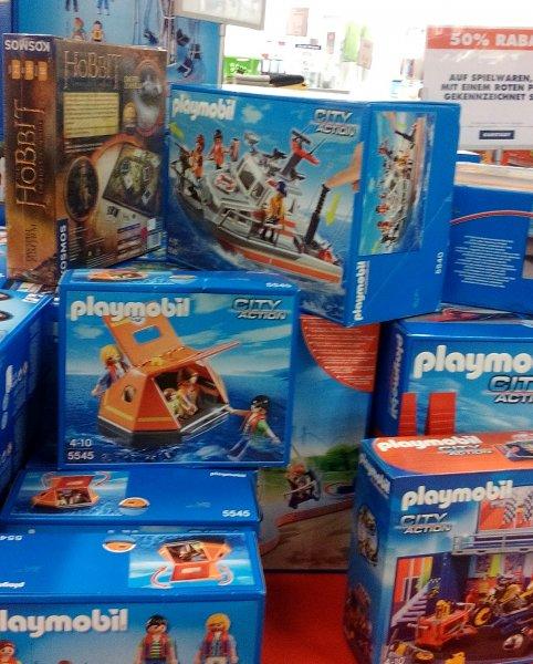 (karstadt berlin) 50% rabatt auf ausgewählte Playmobilartikel und div. spielzeug