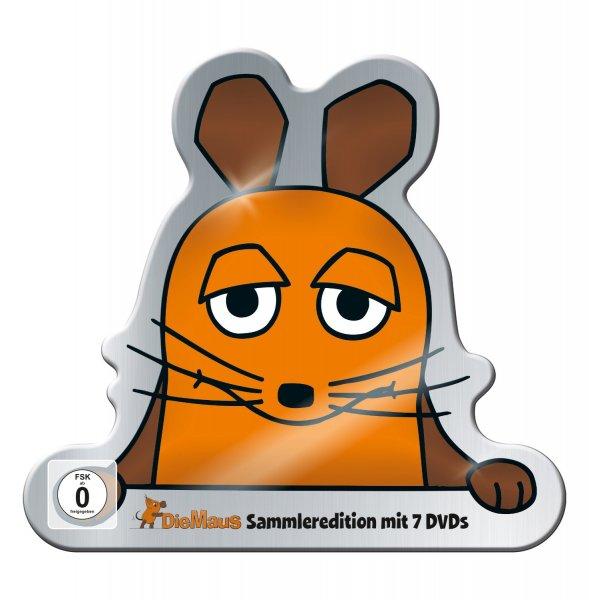 [Bücher.de] Die Sendung mit der Maus - Limitierte Metallsammelbox (7 DVDs) für 40,99€ [Vorbestellung]
