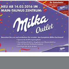 [Frankfurt Shopping-Center Main-Taunus-Zentrum] Gratis Milka-Tafel 100g MTZ