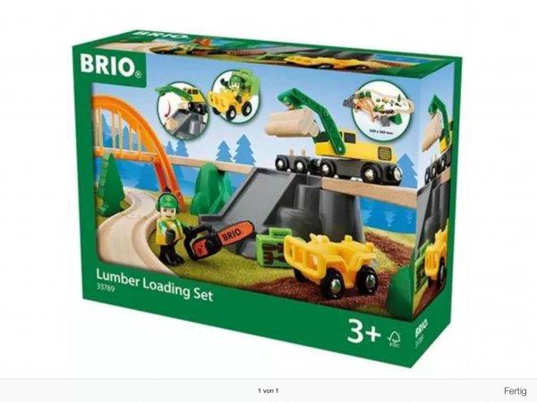 Brio 33789 Waldarbeiter Set