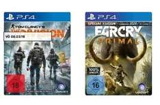 [Lokal Saturn Braunschweig] Tom Clancy's The Division [PS4] oder Far Cry: Primal - Special Edition (PS4 ) für je 49,-€