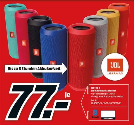 [LOKAL Media Markt Berlin/Brandenburg]  JBL Flip 3