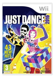 "[Amazon.co.uk] Nintendo Wii ""Just Dance 2016"" für 12,47€"