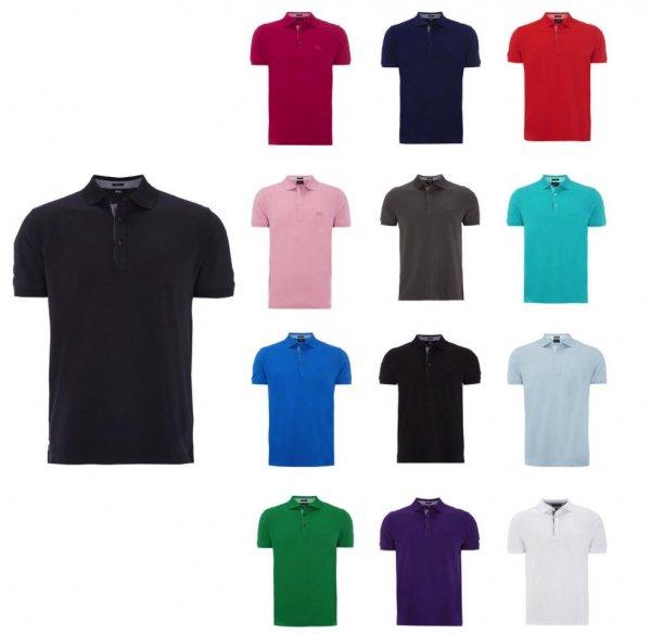 ebay HUGO BOSS Poloshirt mit Logo  Modell: Firenze 55 viele Farben und Größen, 50% Sparen