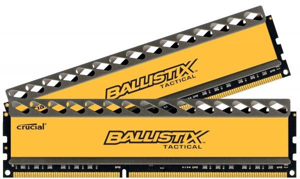 Crucial 16GB Ballistix Tactical Arbeitsspeicher (2x 8GB, 1866MHz, 240-polig, DDR3-RAM Kit)