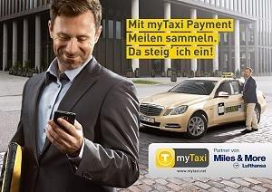 [Miles&More] 2000 Meilen bei Erstfahrt mit MyTaxi.de, zusätzlich zu 1Meile/1€-Umsatz
