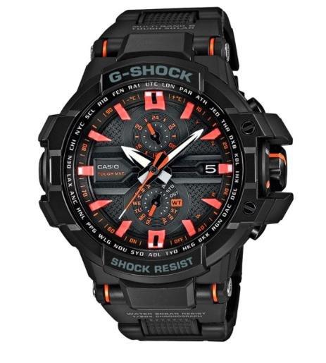 [Uhr.de] Casio G-Shock GW-A1000FC-1A4ER in Schwarz/Orange für 314,10€ statt 409€