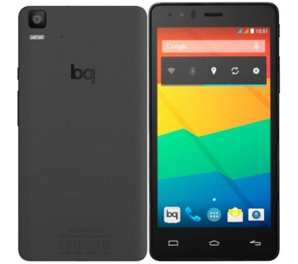 [NBB] BQ Aquaris E5s LTE + Dual-SIM (5'' HD IPS, Snapdragon 412 Quadcore, 2GB RAM, 16GB intern, 13MP + 5MP Kamera, 2850 mAh, kein Hybrid-Slot, Android 5.1 -> Android 6) für 148,98€ bzw. 143,99€ (Studenten)