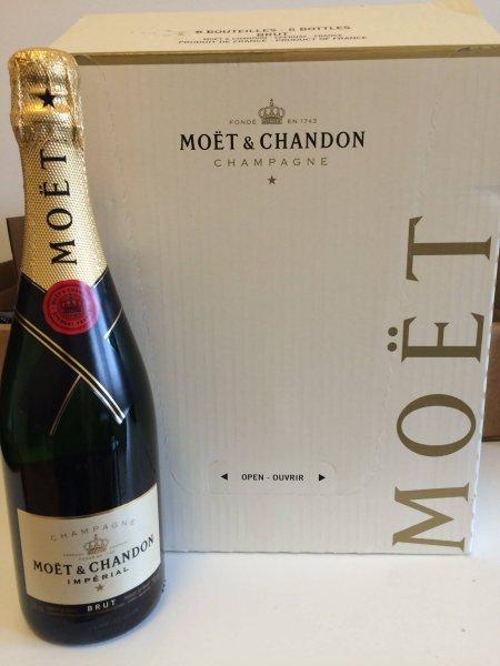 Moet & Chandon Brut Imperial 12% vol. für 34,90 (Versandkostenfrei)
