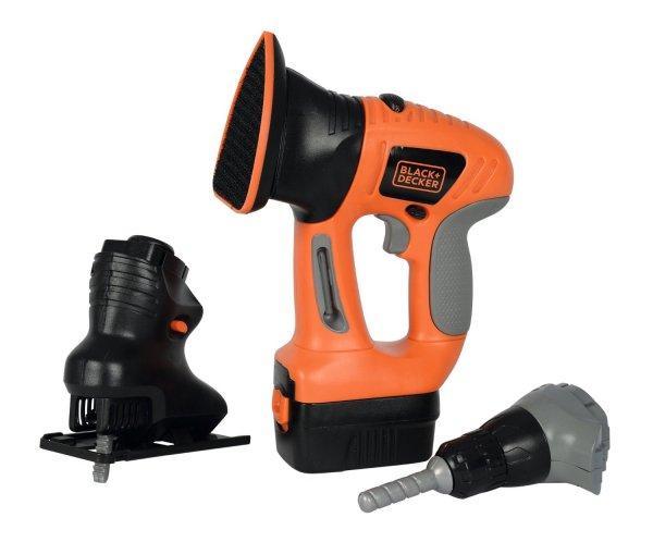 [Amazon Prime] Smoby 360102-PB - Black + Decker eVo 4-in-1 Werkzeug für 8,59€ - PVG: 20,80€ (Abgelaufen) / Smoby 360103-PB - Black + Decker Motorsäge für 10,34€ (noch aktiv) - PVG: 21,78€  / (Spielzeug)