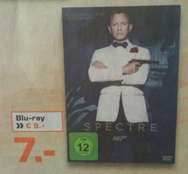 [Saturn - lokal Dessau-Roßlau] Spectre DVD = 7€ / Blu-ray = 9€