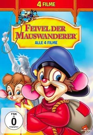 [Media Dealer] Feivel der Mauswanderer, alle 4 Filme auf DVD für 11,96€ inkl VSK statt 16,95€