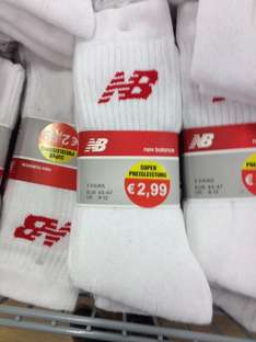 New Balance & Kappa Socken 3er Pack bei Woolworth