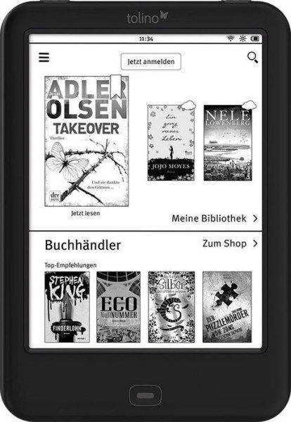 "Tolino shine 2 HD eBook-Reader + eBook ""Das Joshua Profil"" / Sebastian Fitzek für 99 € > [weltbild.de]"