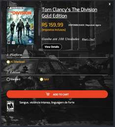 """Tom Clancy's - The Division """"Gold Edition"""" [PC] ~40€"""