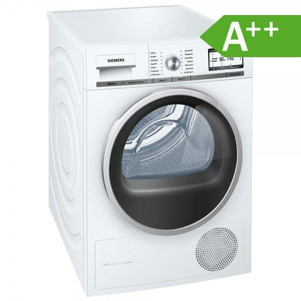 Siemens WT47Y701 iQ800 Wärmepumpentrockner für 549 € inkl Lieferung zur Verwendungsstelle - EEK A++, 8 kg, softDry-Trommelsystem, Selbstreinigungs-Automatik, autoDry-Technologie [redcoon_deutschland@eBay]