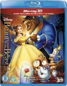 """Zavvi - 50% auf Disney Filme - """"Die Schöne und das Biest"""" in 3D auf Deutsch 12,15EUR"""