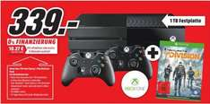 [Lokal Mediamarkt Paderborn] Xbox One 1 TB incl. 2 Controller + Tom Clancy's The Division für 339,-€