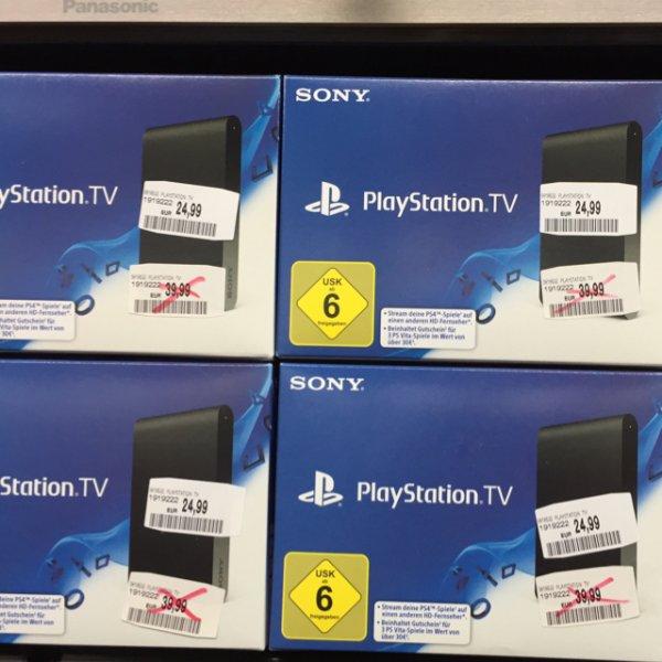 [Lokal MM Bayreuth] Sony Playstation TV 24,99€