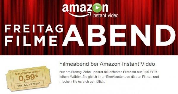 [Amazon Instant Video] Freitag Filmeabend - 10 Filme zu je 99 Cent leihen in HD / SD