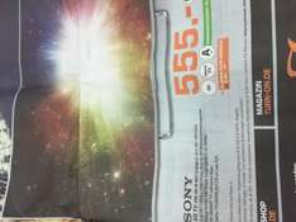 Sony 50 W 807c @ Saturn Witten