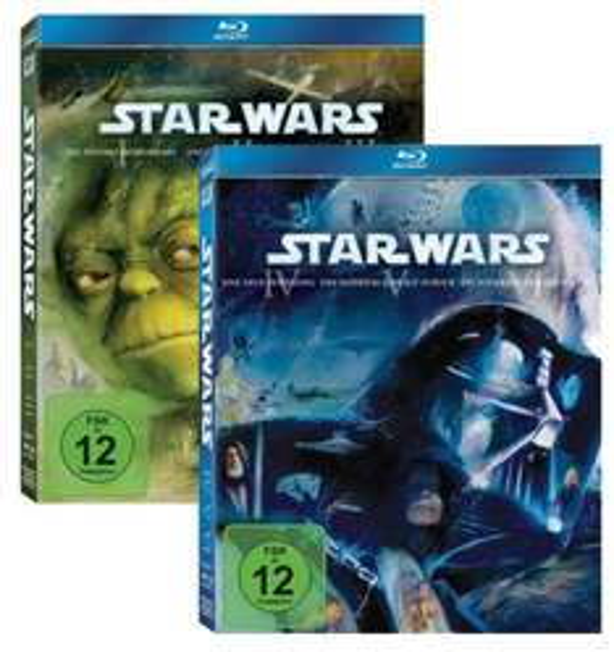 [Thalia.de] Star Wars I-III + Star Wars IV-VI (Blu-ray) für 58,63€ inkl. VSK