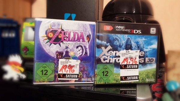 [Lokal Münster, Saturn York Ring] Nintendo 3DS Spiele... (Zelda Majoras Mask, Xenoblade usw)