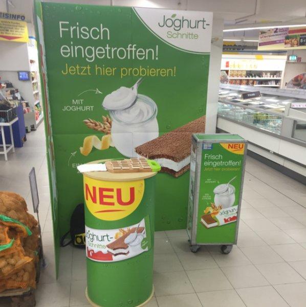 [Lokal Augsburg] Joghurt Schnitte Verkostung im Riegel Center