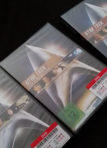 Star Trek DVD's bei Kik (offline)