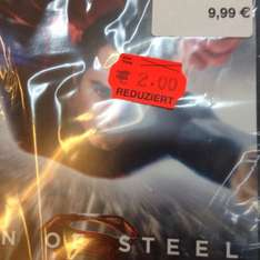 [Lokal Hamburg Nedderfeld Center] Man of Steel DVD für 2€