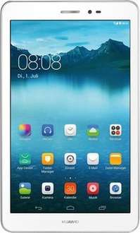 [Alternate] Huawei Mediapad T1 8.0 3G (8'' HD IPS, Snapdragon 410 Quadcore, 1GB RAM, 16GB intern, UMTS + GPS, 5MP + 2MP Kamera, 4800mAh, Android 4.4) für 104,99€