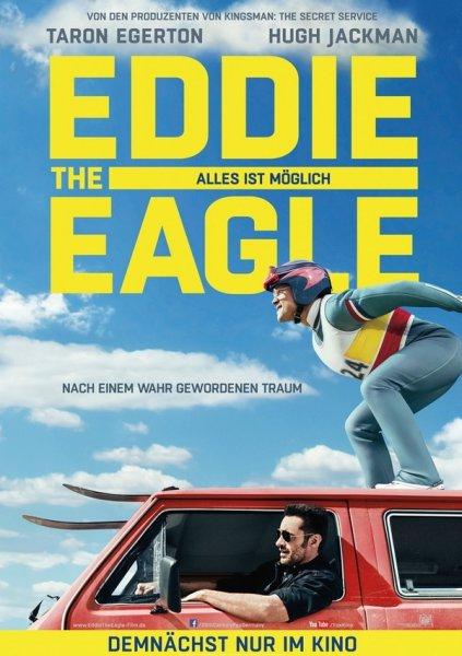 """[KINO PREVIEW] Günstig zu zweit zu """"Eddie The Eagle - Alles ist Möglich"""" am 07.03.2016 - Leitungen frei ab Samstag, 05.03.2016 um 12 Uhr"""