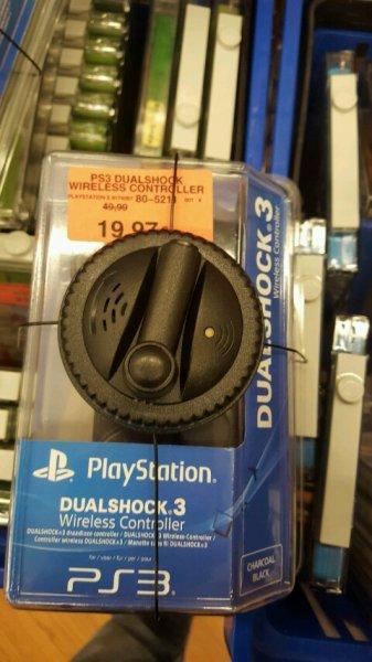 Dualshock 3 Wireless Controller für PS3 für 19,97€ bei Toys'r'Us Aschaffenburg (wahrscheinlich nur lokal)