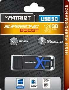 [Amazon MP] Patriot Supersonic Boost XT USB-Stick 128GB USB 3.0 (R.: >150 MB/s & W.: >60 MB/s) für 39,99€