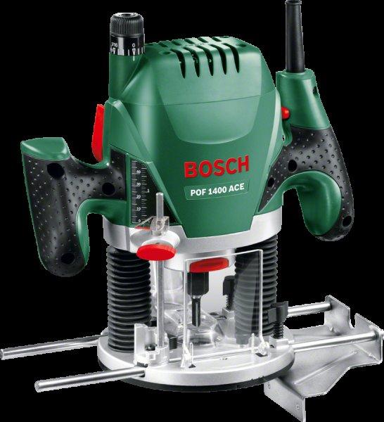 Oberfräse Bosch POF 1400 ACE für 93,99€ [PVG:116,0€]