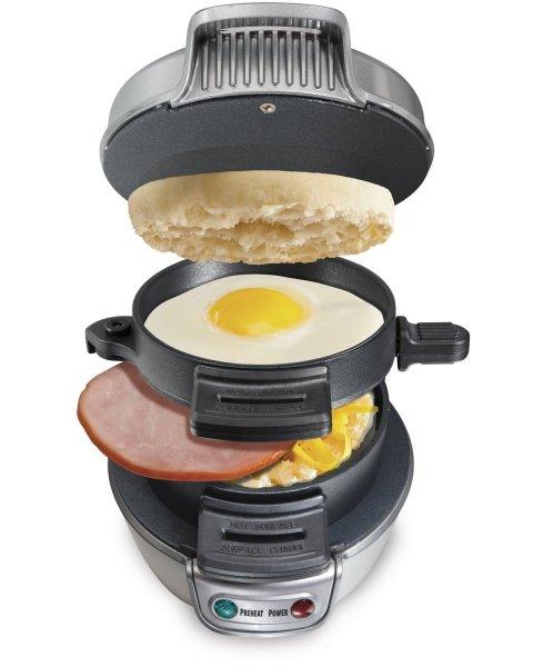 Hamilton Beach Electric Breakfast Sandwich Maker @amazon.uk ca 22€